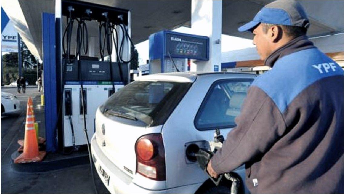 Nuevo aumento del precio de las naftas