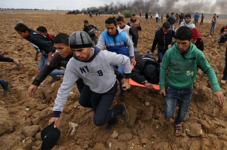 2 palestinos muertos en los bombardeos del ejército israelí en Gaza