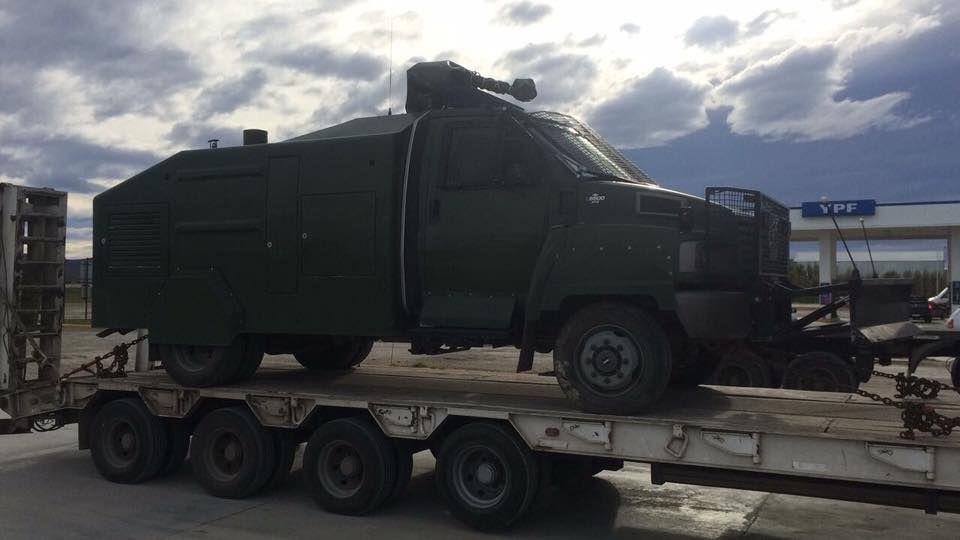 Gendarmería desalojó a estatales de Santa Cruz y liberó la ruta