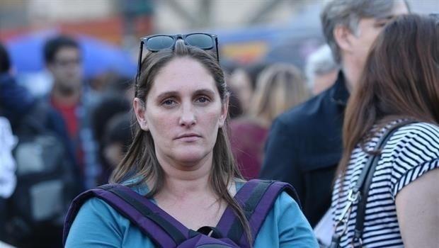 Buscan a la militante feminista Fernanda Chacón