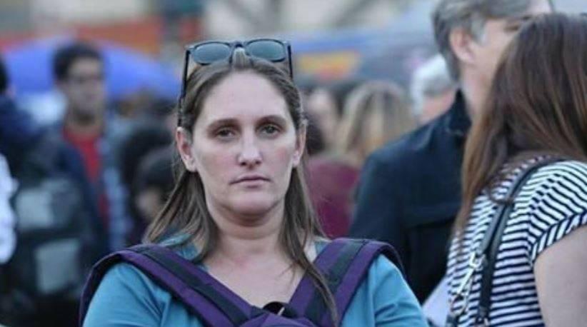 Desesperada búsqueda de una reconocida militante feminista