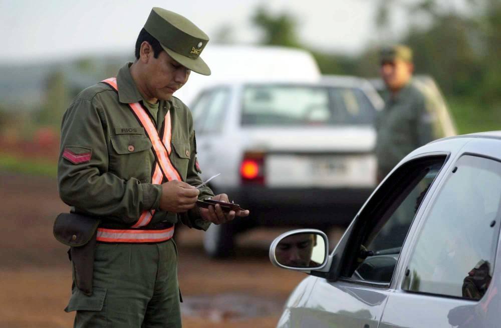 Operativos en la frontera