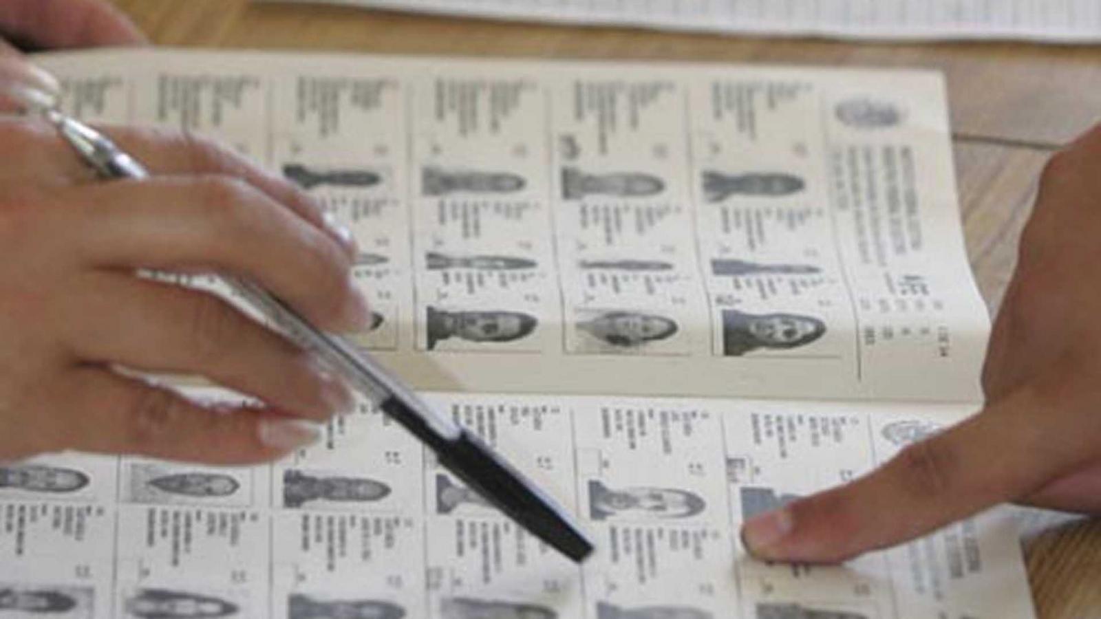 Consultá el padrón para saber donde votás