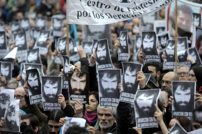 Dos mapuches confirmaron que a Santiago Maldonado se lo llevó Gendarmería