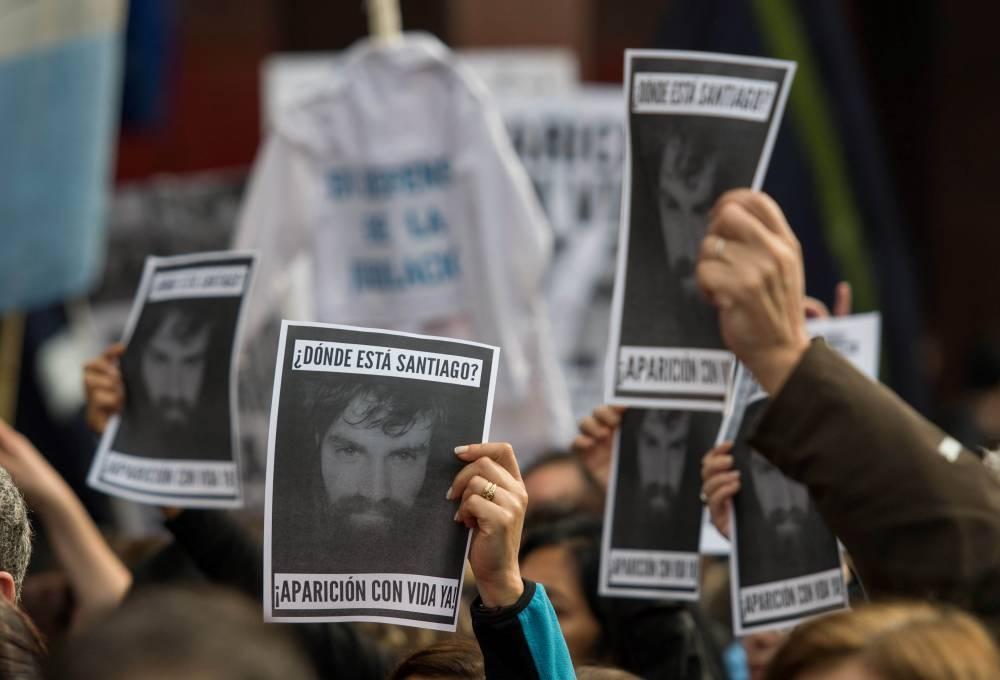 Movilización por Maldonado a un mes de la desaparición