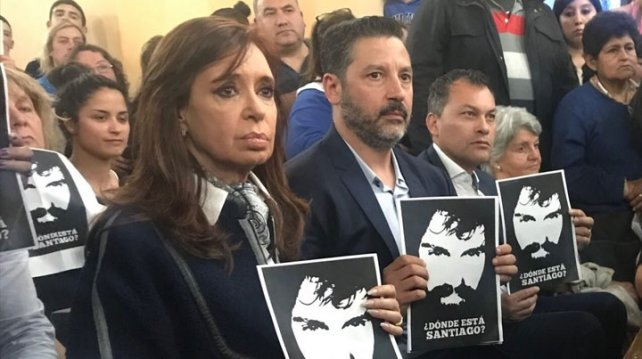 Tras la marcha de Santiago Maldonado, Cristina Kirchner hizo una grave denuncia