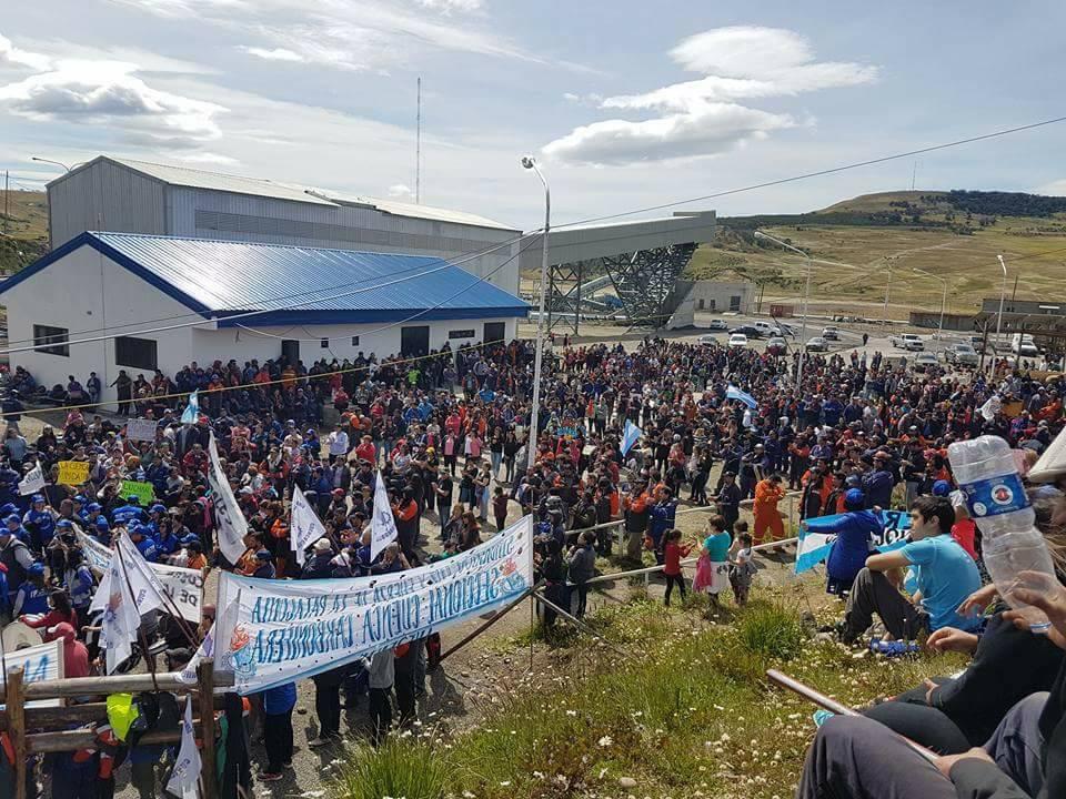 Mineros de Río Turbio advierten: