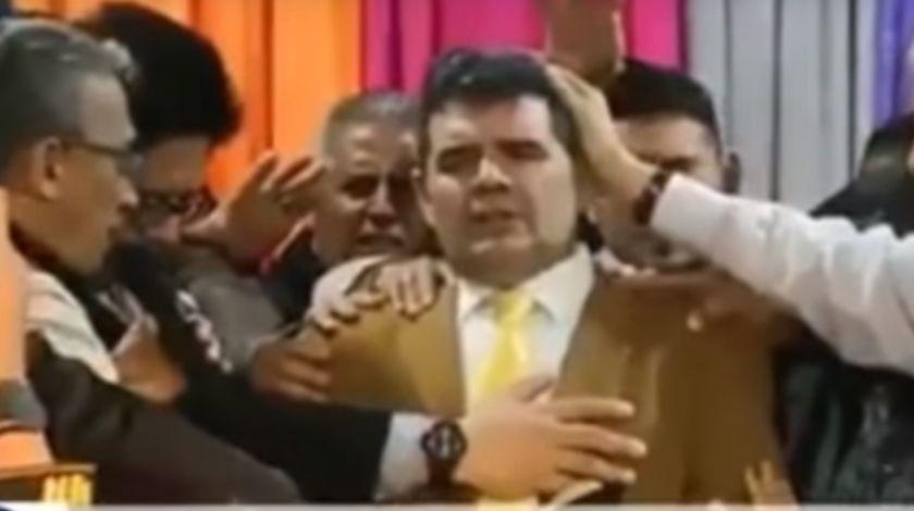 Bendijeron a Olmedo para las elecciones 2019 y se derrumbó el escenario