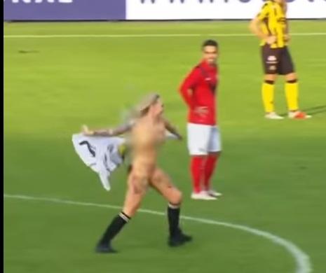 (VIDEO) Contratan stripper para hacer tiempo durante partido y pierden