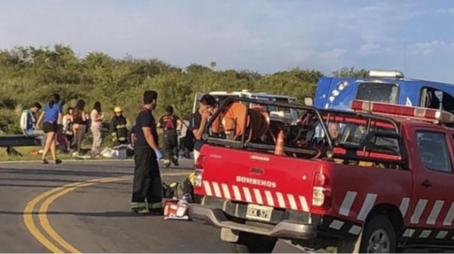 Accidente en las altas cumbres: al menos cuatro heridos graves
