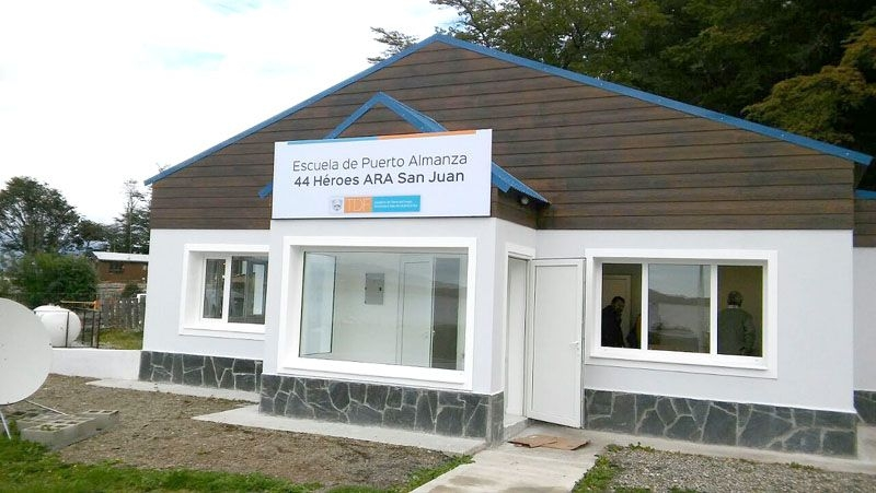 ARA San Juan: Inauguran escuela con nombre del submarino desaparecido
