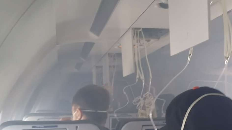 Ezeiza: avión tuvo que aterrizar de emergencia porque
