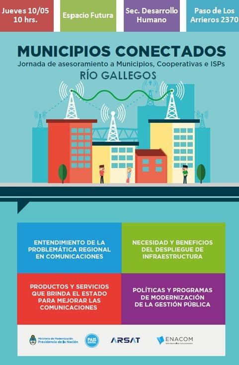 Jornada de asesoramiento a municipios en Río Gallegos - El Diario ...