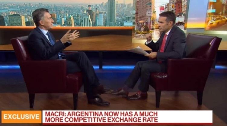 Mauricio Macri sobre su reelección