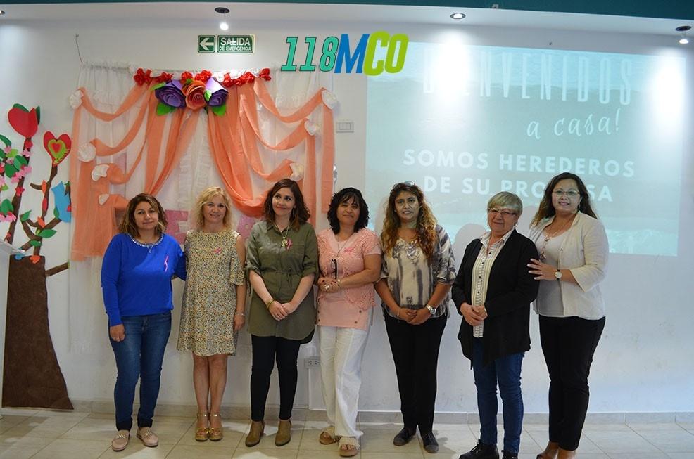 """""""Bellas, mujeres de fe"""" compartió un nuevo encuentro en Caleta Olivia - El Diario Nuevo Dia"""