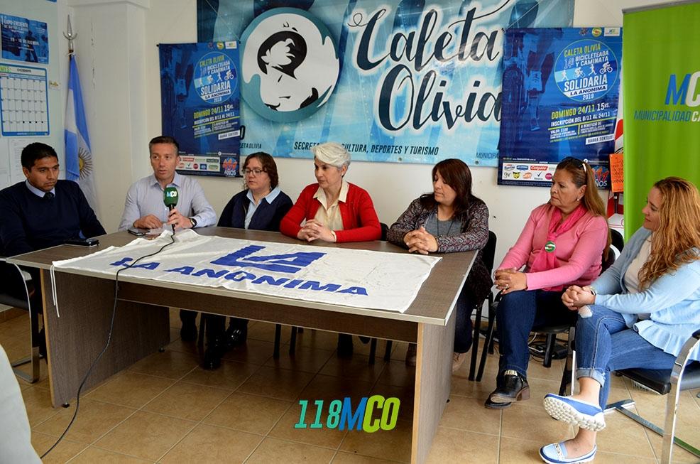 Caleta Olivia: se acerca la 14° Caminata y Bicicleteada de La Anónima - El Diario Nuevo Dia