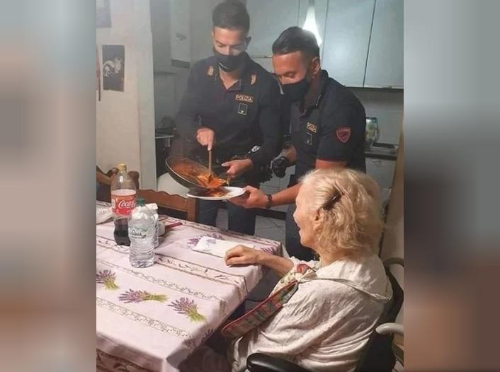 Una jubilada llamó a la policía porque tenia hambre