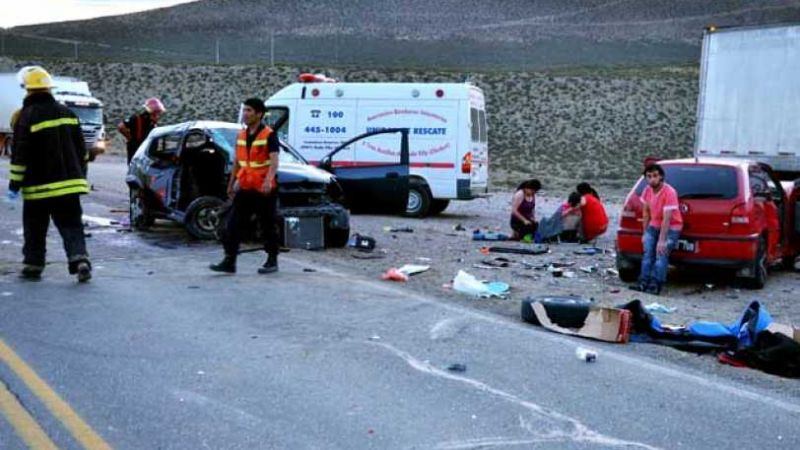 "Fatal accidente en la ""Bajada de los palitos"""