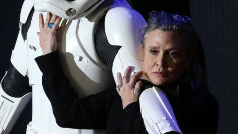 Murió Carrie Fisher, la famosa princesa Leia de Star Wars