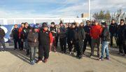 Mientras protestan en bases de YPF, preparan huelga general del miércoles