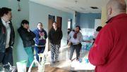 Se conformó mesa de gestión y trabajo en el Barrio 62 Viviendas de Caleta Olivia