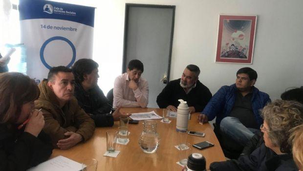 FeSOEM se reunió con con funcionarios de la Caja de Servicios Sociales