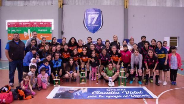 """Copa """"Mutual 12 de Septiembre"""": Estudiantes ganó el fútbol femenino en Río Gallegos"""