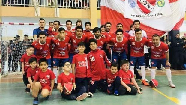 Diablos rojos campeón futsal AFA 2018