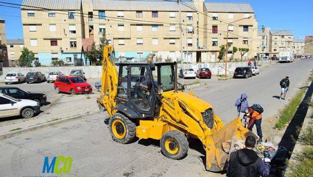 Limpieza barrial y mejoramiento de avenida Fagnano