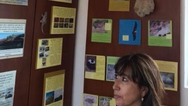 La diputada nacional Reyes visitó Parque Nacional Monte león
