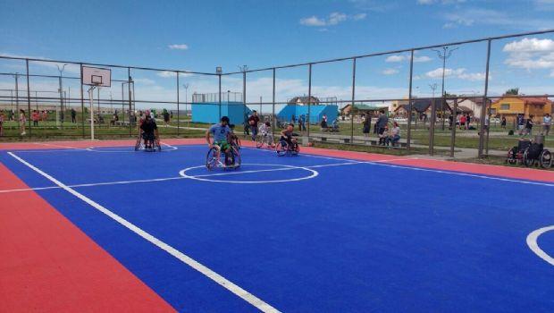 """CRIGAL se sumó al """"Verano Jugado"""" en el Parque de la Ciudad con el básquet 3 vs 3"""