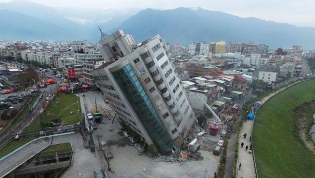 Un sismo de 6,4° sacudió a Taiwán: dos muertos, 200 heridos y graves daños