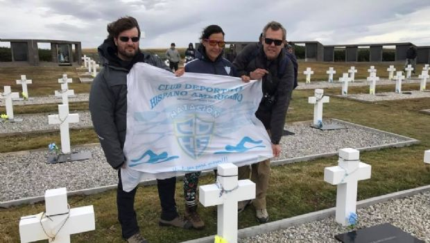 Natación Master Hispano  en Malvinas