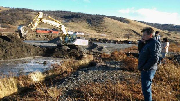El deshielo provoca la crecida de caudal del rio en 28 de Noviembre