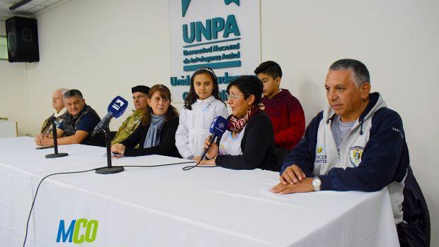 """Caleta Olivia: """"La comunidad demostró conciencia de patriotismo"""" destacó Bayón sobre la visita de Héroes de Malvinas"""