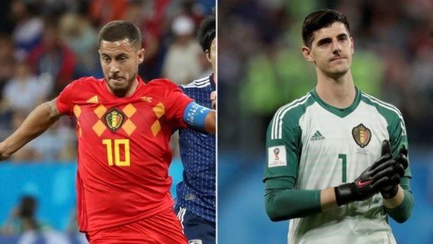 """Hazard y Courtois criticaron duramente el juego de Francia: """"Son el antifútbol"""""""
