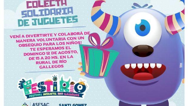 """""""FestiRío"""", el festival infantil que tendrá de todo para agasajar a los chicos  de Río Gallegos"""