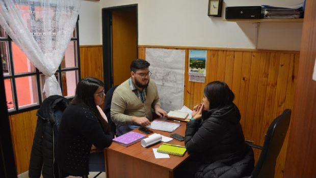 Jornada intensiva de trabajo de Vessvessian en Los Antiguos