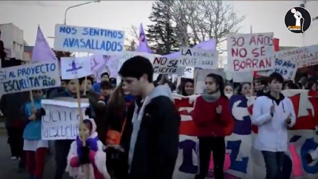 Con un vídeo buscan concientizar sobre el conflicto de la Escuelita del Río