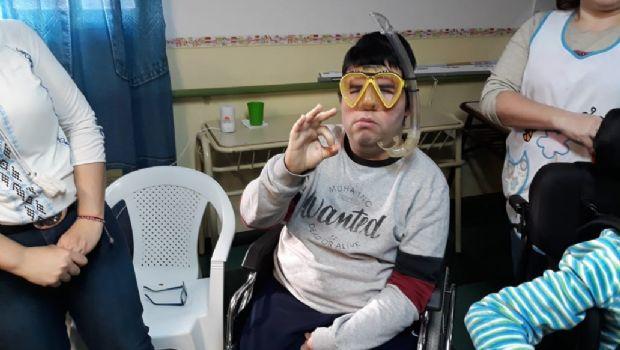 """""""Fondos Limpios"""" visitó la Escuela Especial 8 de Caleta Olivia"""
