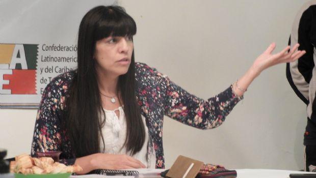 """Olga Reinoso: """"Cuando los trabajadores construyen poder las dificultades son mayores"""""""