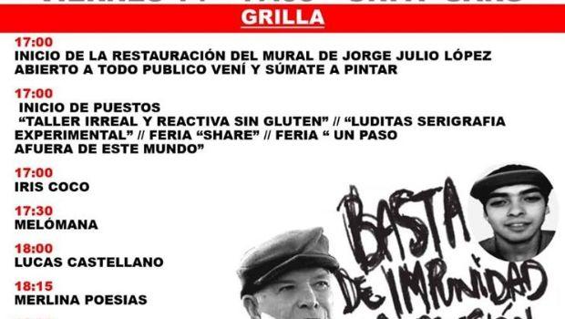 La Caldera UJS+ Independientes organizan jornada cultural por los desaparecidos en democracia