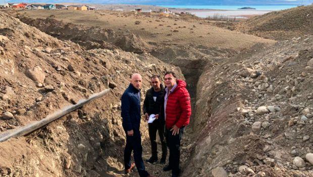 El Calafate: Belloni dejó inaugurada la ampliación de la red de gas en las manzanas 800