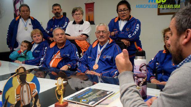 Prades recibió a jugadores de la Escuela Municipal de Newcom Ankatú