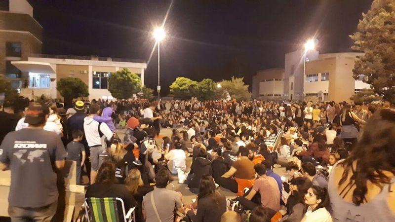En Chubut comenzó la vigilia contra la Megaminería