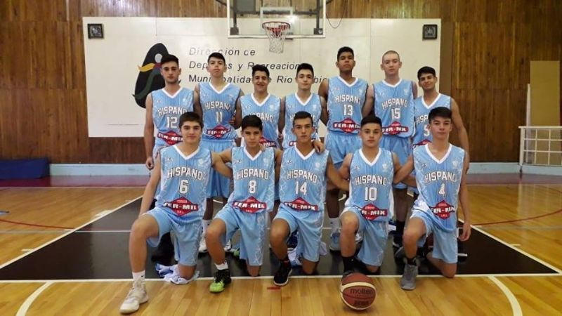 Hispano U 17 invicto en Río Turbio