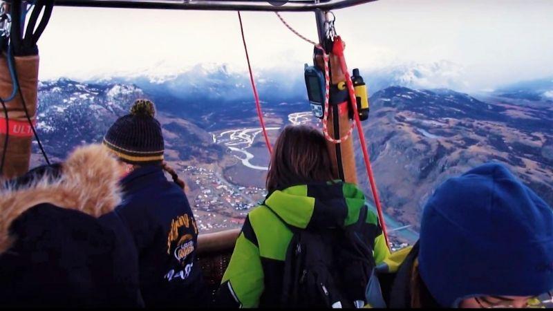 Globos Aerostáticos en la Patagonia: Las imágenes ya recorren el mundo