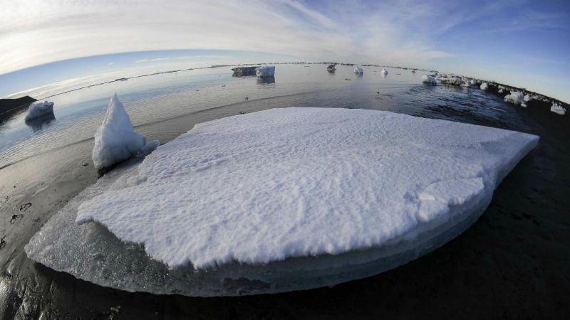 Desconcierto entre los científicos por un llamativo fenómeno en la Antártida