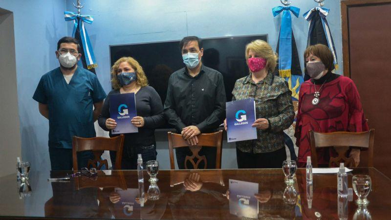 El Municipio de Río Gallegos y Lalcec firman convenio de colaboración mutua
